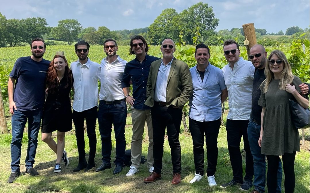 Nicholson's 2021 Summer Party - team picture